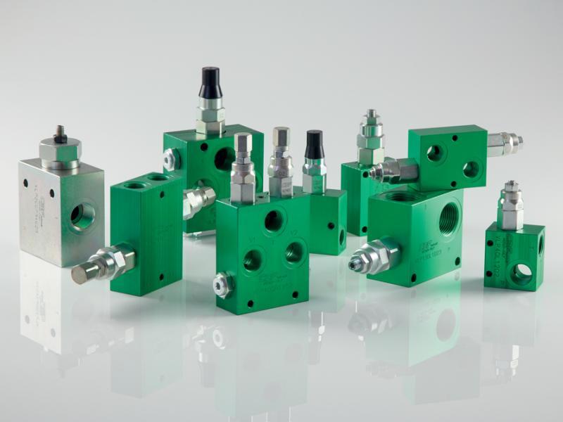 Photo composants hydrauliques Pression Hydea