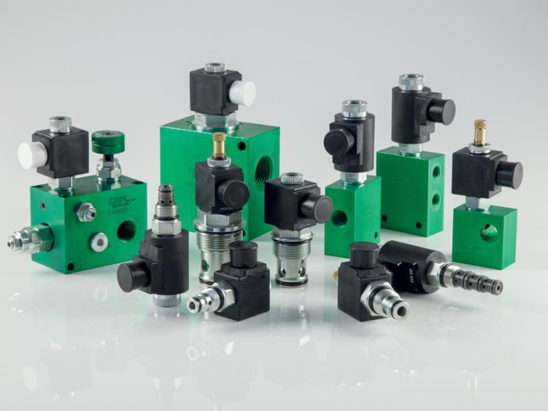 Photo composants hydrauliques Électrovalves Hydea