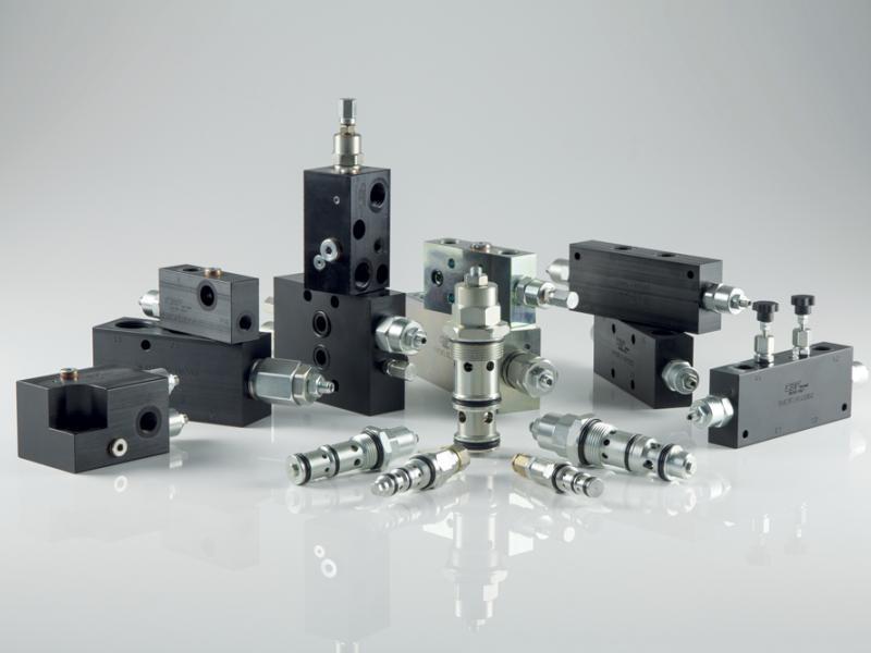Photo composants hydrauliques Valves d'équilibrage Hydea