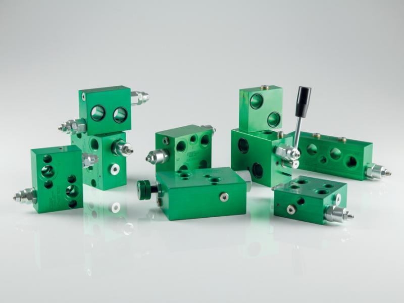 Photo composants hydrauliques Valves flasquables sur moteurs Hydea