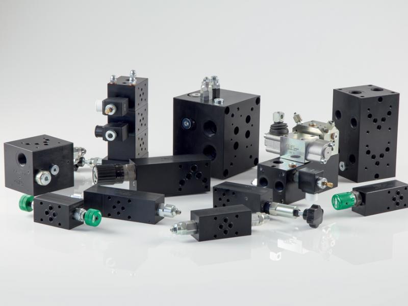 Photo composants hydrauliques Valves CETOP Hydea